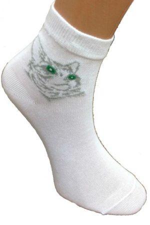 Носки женские С-401а Кошки